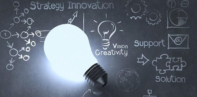 innovation, creativity, vision